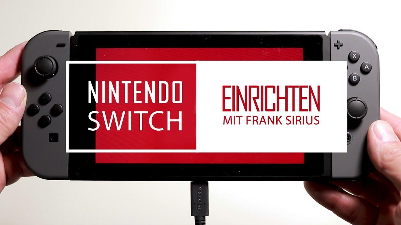NINTENDO Switch #10 Einrichten: Einfache erste Installation? / Deutsch German