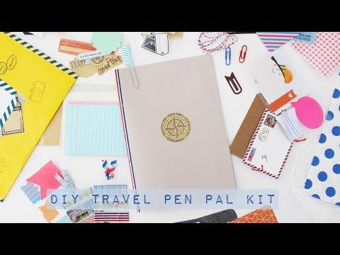 DIY Travel Pen Pal Kit