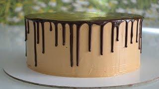 Как сделать ШОКОЛАДНЫЕ ПОТЕКИ на торте