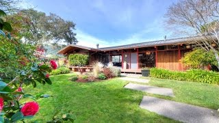 Classic Mid-Century Modern Home in Ross, California