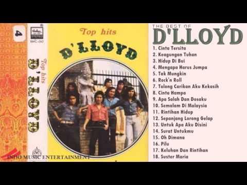 THE BEST OF D'LLOYD - Band Indonesia Terpopuler 70an-80an