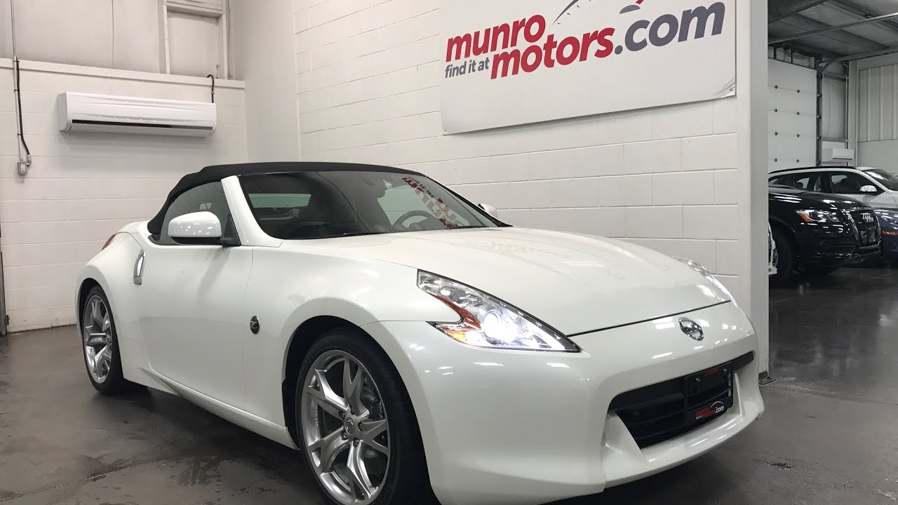 2010 Nissan 370z Sold Sold Sold Convertible Pearl White Low Kms