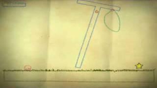 Crayon Physics Deluxe - Island 3 of 8 walkthrough