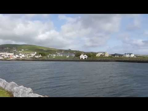 Ireland Dingle Marina Panorama