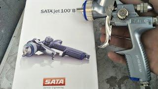 SATAjet 100 БФ-РП огляд демо