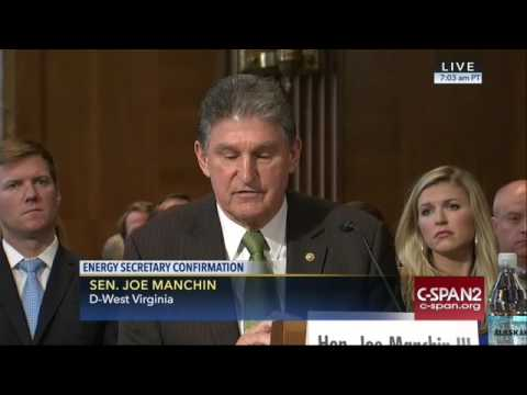 Joe Manchin Gives Rick Perry A Ringing Endorsement