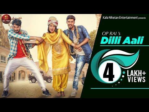 DILLI AALI I New Haryanvi Song 2018 I Shivani Raghav, Vinu Gaur & Rohit Sangwan I VRaj Bandhu