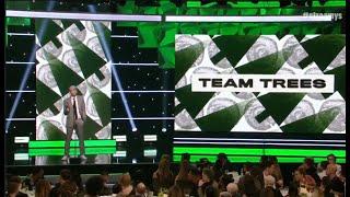 Mark Rober and MrBeast Highlight Team Trees | Streamy Awards 2019