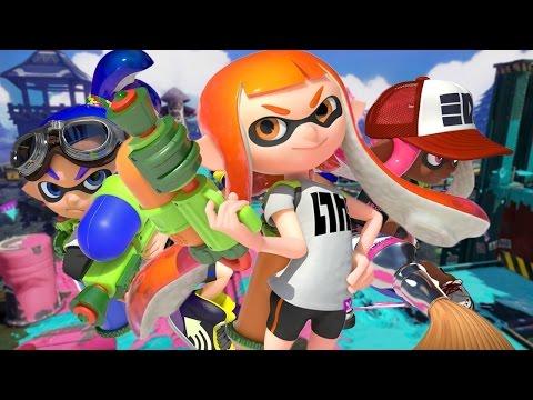 SPLATOON 2 - Testando o Game no Nintendo Switch! (Global Testfire Gameplay)