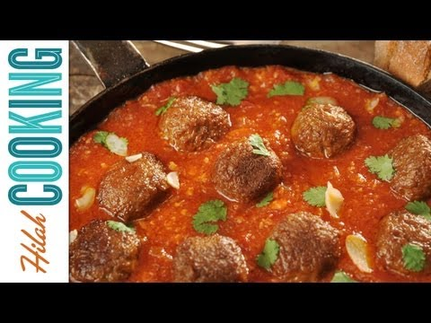 Homemade Meatball Recipe - How To Make Meatballs   Hilah Cooking Ep 9