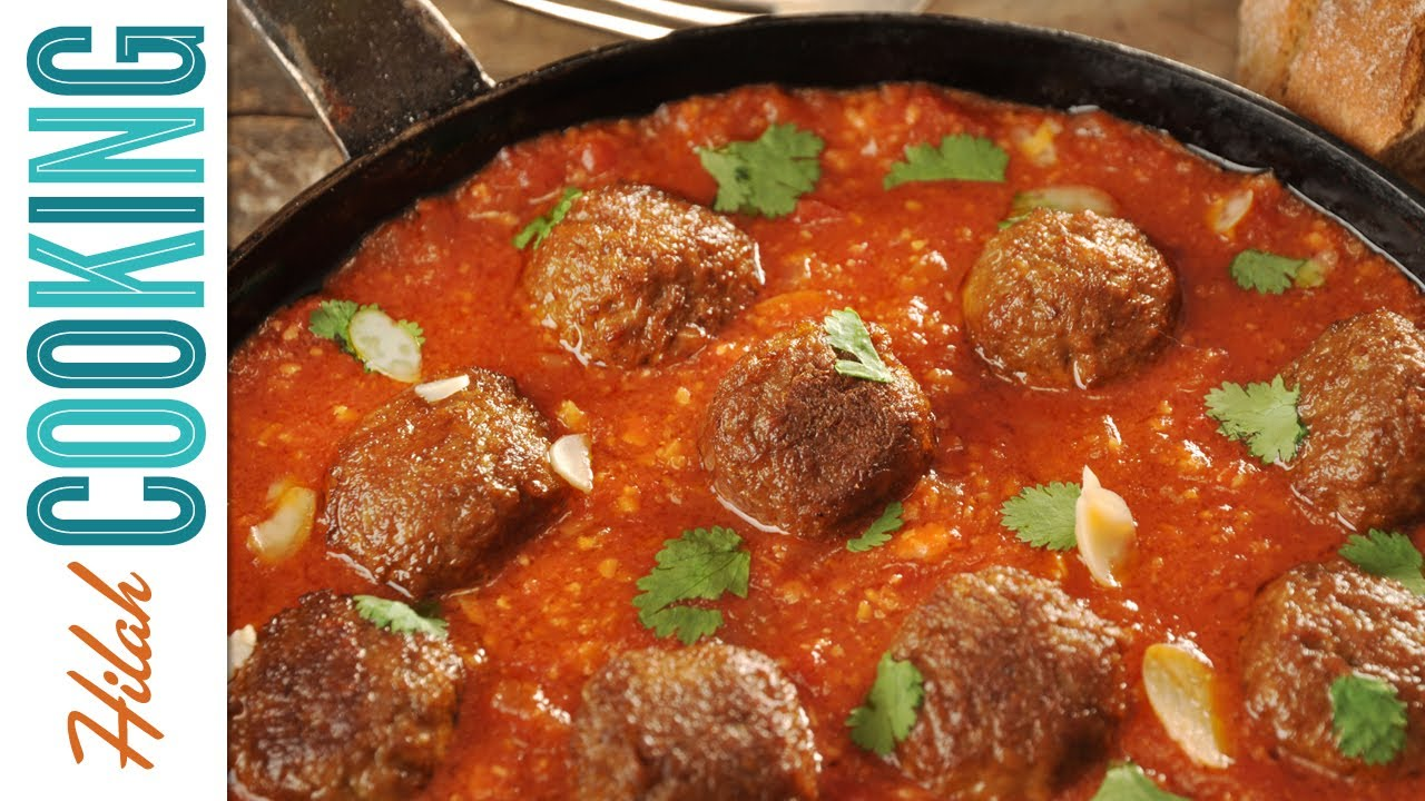 Homemade Meatball Recipe How To Make Meatballs Hilah Cooking Ep