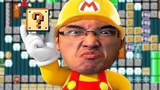 Super Mario Maker FR   JE N'ARRIVE PAS À PASSER CE NIVEAU DE *****!