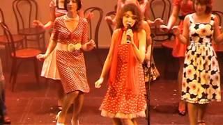 "Французская песня по-русски:""Урок твиста"" (Далида) - ""La leçon de twist"" (Dalida) en russe"