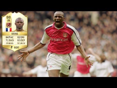 Fifa 17 Patrick Vieira Legend Review - YouTube
