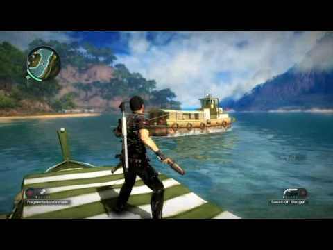 Just Cause 2 GamePlay & EPIC FAIL |