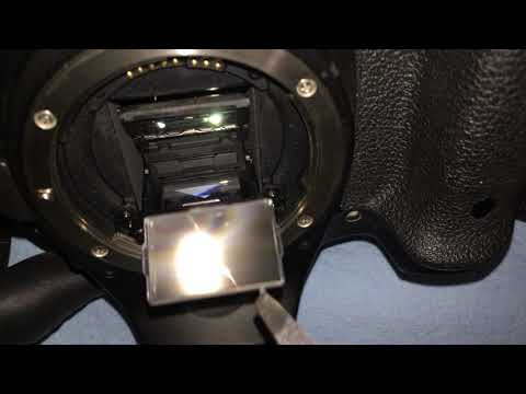 How To Replace Focusing Screen On Canon 70D