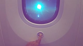 Dreamliner - new electronic control cabin window dimming system