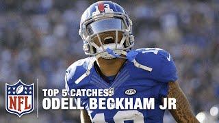 Odell Beckham Jr.'s Top 5 Catches! | NFL