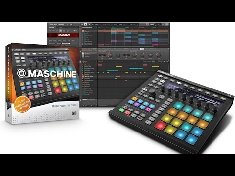 Native Instruments Maschine MK2 Groove Production Studio To Control & Sequence Hardware Instruments