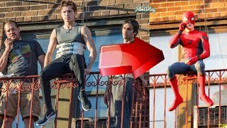 Tom Holland's Most Insane Stunts without a Stunt Double   Tom Holland Performing Stunts Without Help