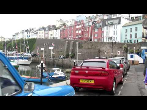 Walk Around Brixham Harbour in Devon