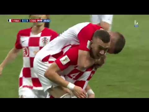 ¡GOLAZO DE CROACIA! | Francia vs Croacia