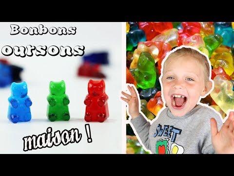 ♡• RECETTE BONBONS OURSONS MAISON •♡