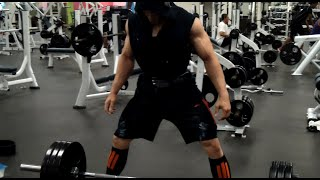 DUP Workout Session with Pro Bodybuilder Johnny Sierra