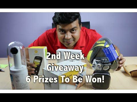 2nd Week Giveaway, HTC RE, Chromecast, Smart Watch and More | Gadgets To Use