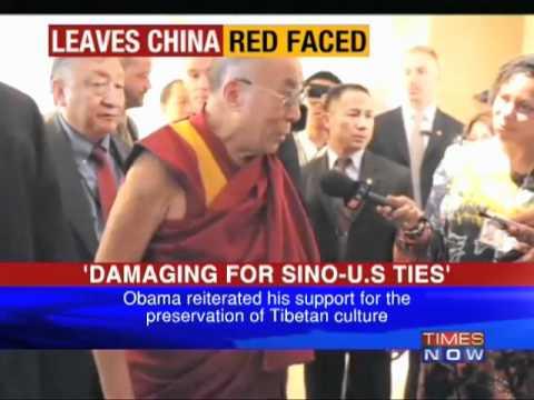 Barack Obama meets Dalai Lama