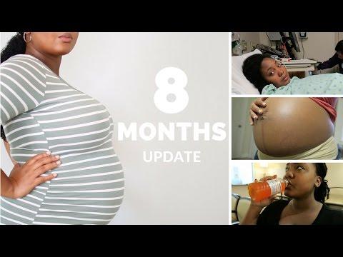 Stretch Marks, Car Accident, &  Failing the Glucose Test   Pregnancy Update + Bump Shot Vlog