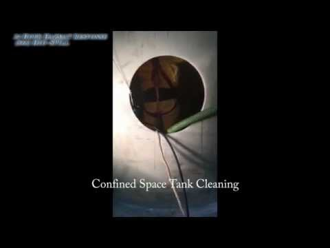 Confined Space Tank Cleaning