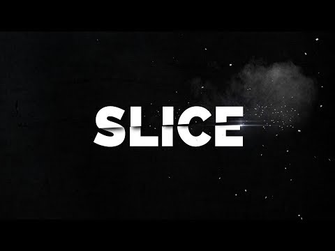 Slice Text Reveal Template - After Effects (Glitch Text/Logo Reveal Template) NO PLUGINS