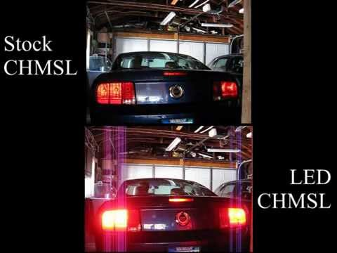 2007 Mustang GT CHMSL (Center High-Mounted Stop Lamp) Comparison ...