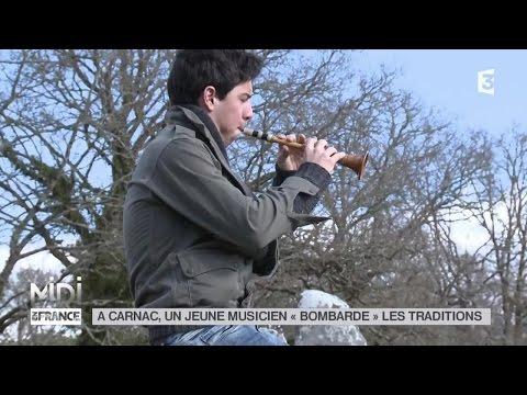 """FEUILLETON : À Carnac, un jeune musicien """"bombarde"""" les traditions"""