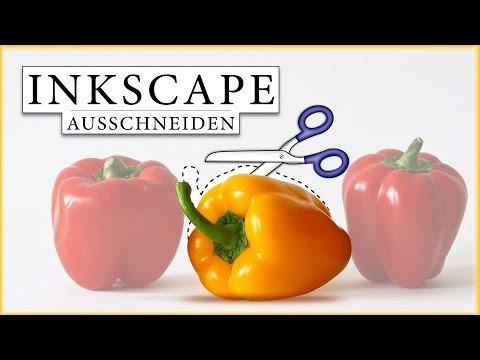 Inkscape  Tutorial (deutsch) - Objekt freistellen/ausschneiden