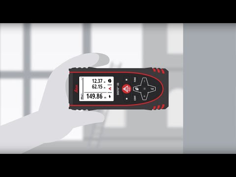 Leica DISTO™ X3 - Designed for tough rugged conditions – English Speaker