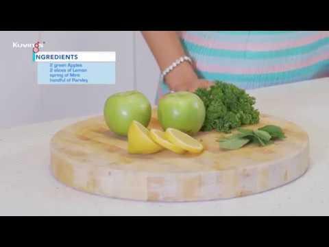 Yeşil Elma Suyu Tarifi - Kuvings Katı Meyve Sıkacağı - C7000 - https://kuvingsturkiye.com