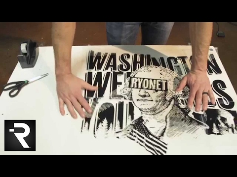 How To Combine Multiple Films For A Larger Screen Print