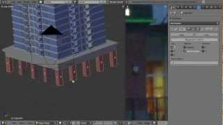 How To Create A High Rise Building In Blender - Part 1 Of 2