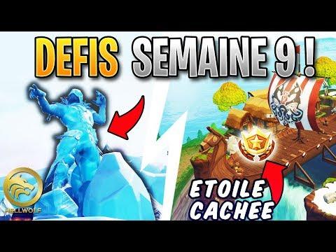 FORTNITE - SCULPTURES DE GLACE, DINOSAURES & PALIER GRATUIT!  Guide Défi Semaine 9 Saison 8 thumbnail