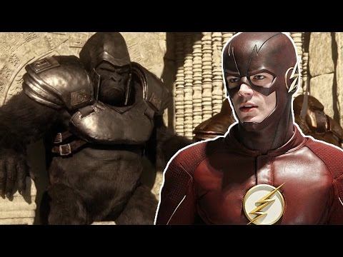 "The Flash Season 3 Episode 13 ""Attack on Gorilla City"" Review and Easter Eggs!"