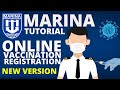 How to Register at MARINA COVID19 Vaccination Online Registration for Seafarers & Manning Agencies