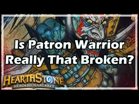 [Kripp] Is Patron Warrior Really That Broken?