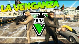 GTA V MOD PC LA EPICA VENGANZA DE LOS MONOS !!! (PARTE 1) GTA 5 MOD Makiman