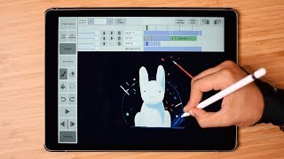Animation with iPad Pro (Frame by Frame Using RoughAnimator)
