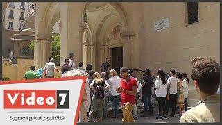 فوج سياحى مجرى الجنسية فى زيارة لمعالم القاهرة السياحية