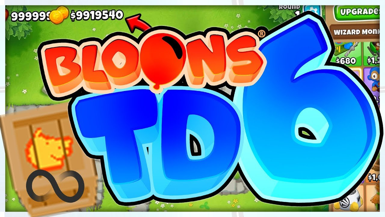 $6,000,000 INFINITE MONEY GLITCH - BLOONS TD 6 (Bloons Tower Defense