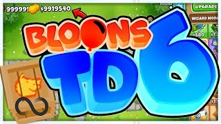 $6,000,000 INFINITE MONEY GLITCH - BLOONS TD 6 (Bloons Tower Defense 6)