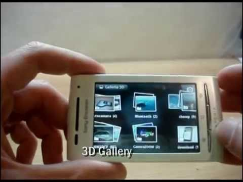Sony Ericsson XPERIA X8 Android 2.2 Froyo Multitouch
